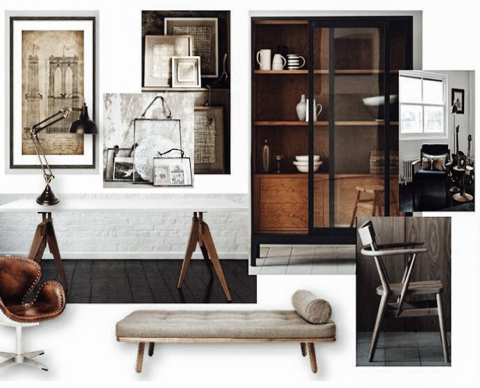 mid-century rocker - furnishing package