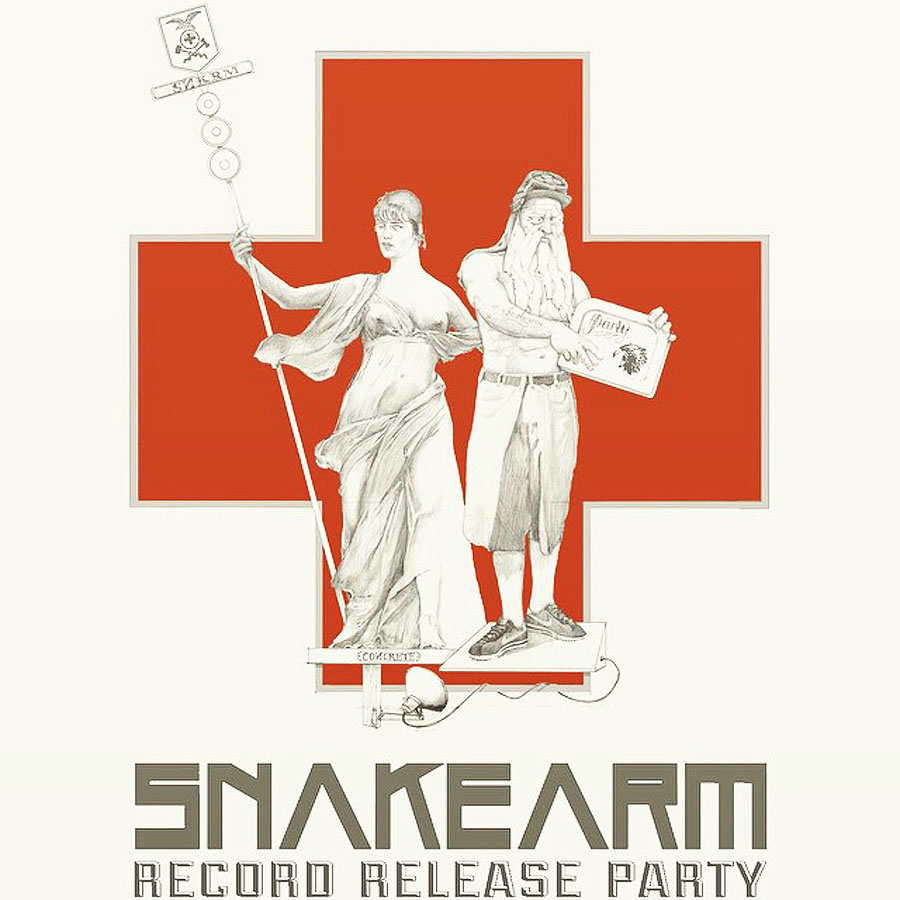 Snakearm - Flyer