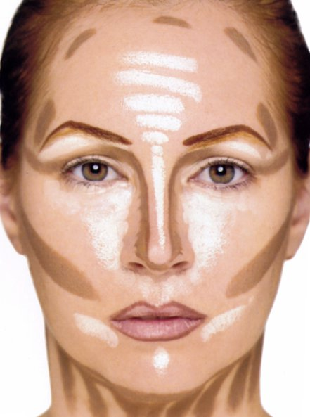 Contouring and Highlighting by Kevin Aucoin Making Faces