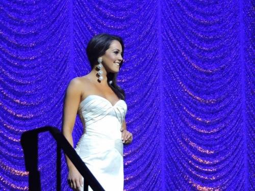 Miss Manhattan, Mackenzie Perpich in Evening Gown
