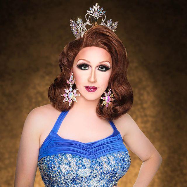 Miss Gay Missouri America 2017, Tabbi Katt.  Feeling gorgeous in @bhcosmetics!  Photo Credit @walkerson_stl  #TabbiKatt #MGMA #DragQueen #Pageant @bh.pro #mga