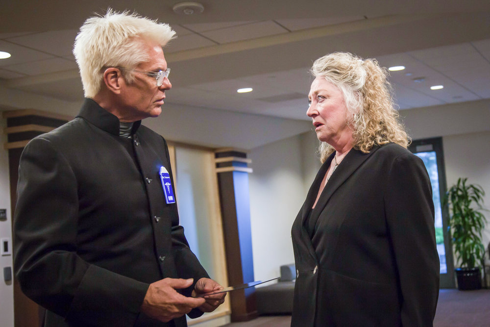 (BTS Series) (Actors Harry Hamlin and Veronica Cartwright during a rehearsal)(Photo Mani Perezcarro).jpg