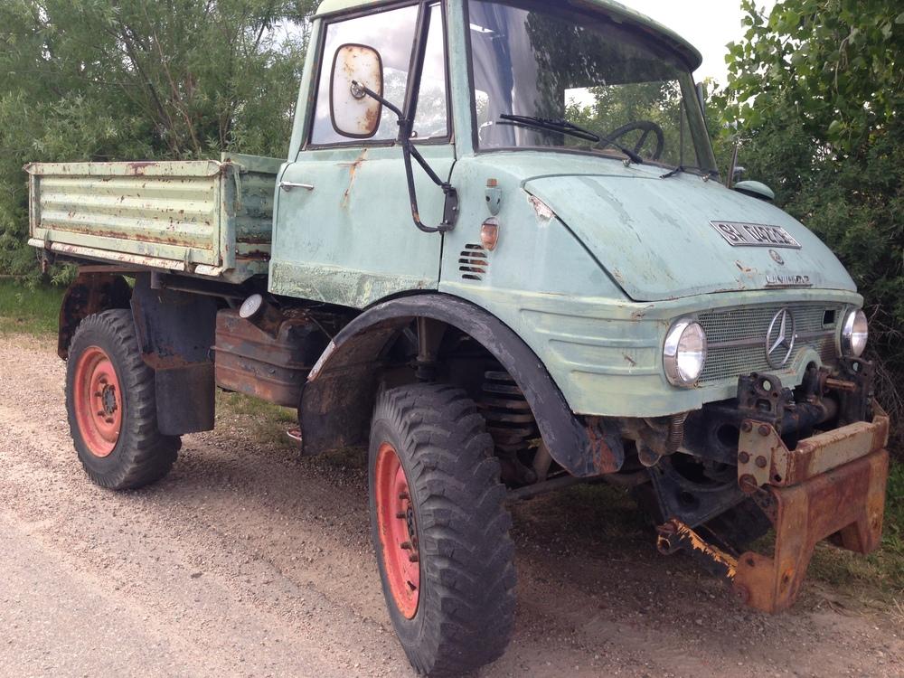 1968 Mercedes Unimog Diesel