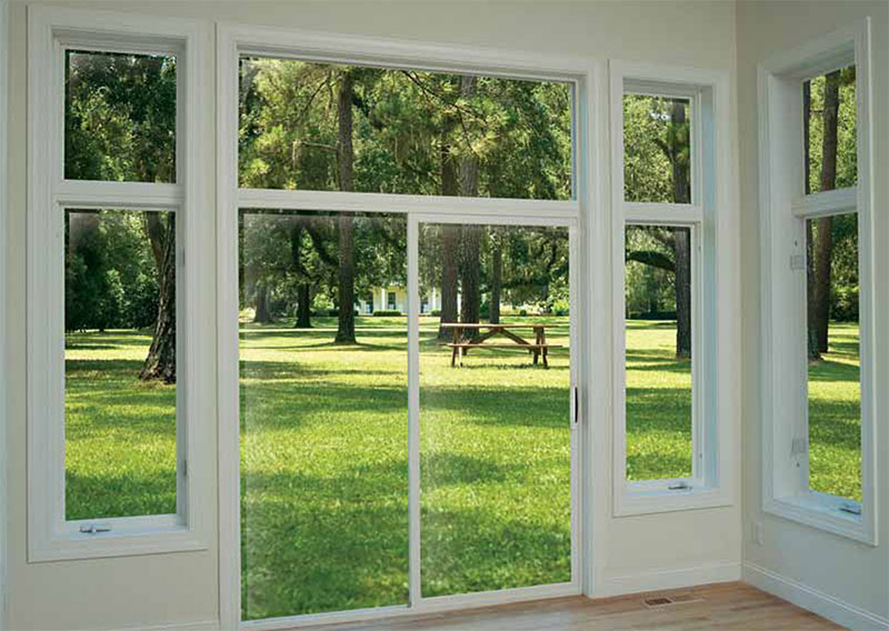 Hayfield Vinyl Classics Rolling Patio Doors