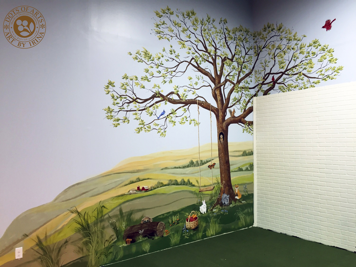 tree mural princeton play place murals and decorative painting nj prev next