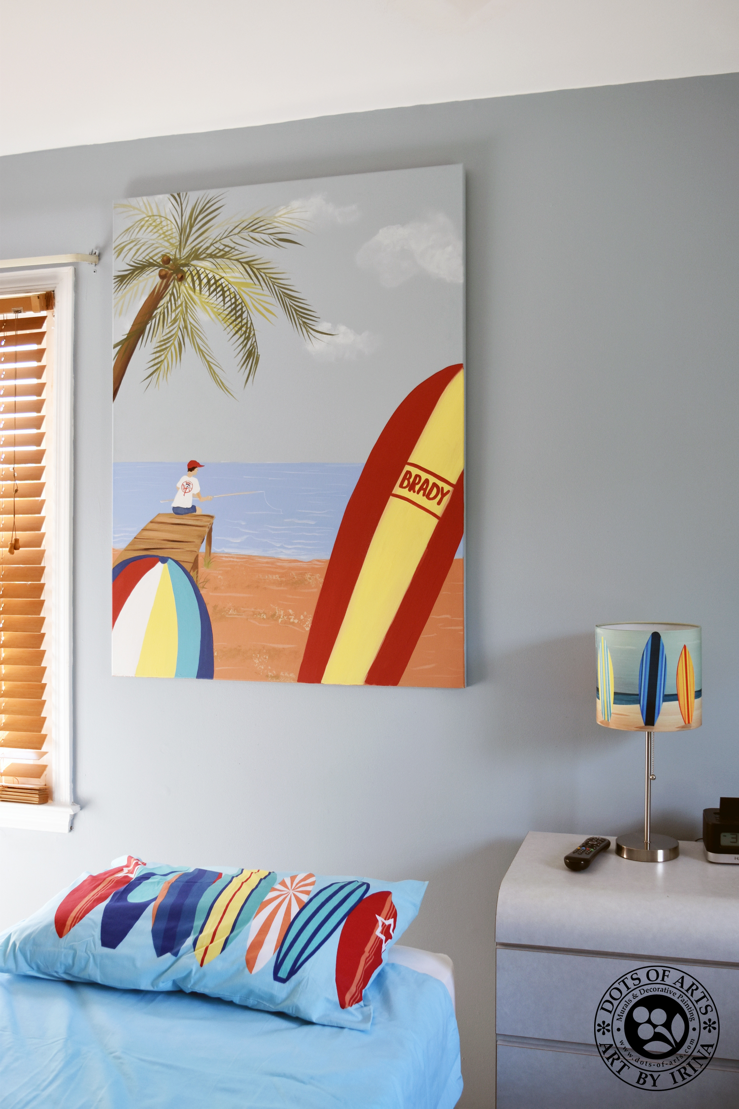 surf mural murals and decorative painting nj prev next