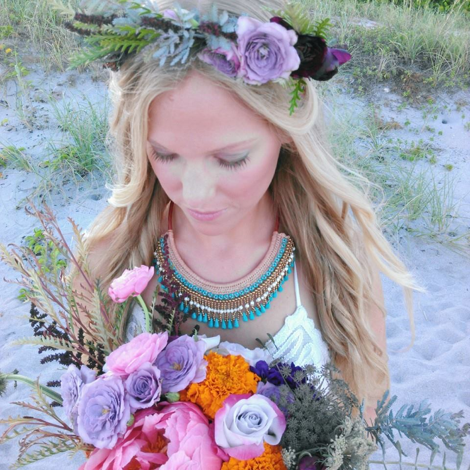 Bohemian Bridal Model Taylor