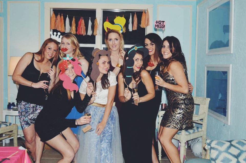 disney princess bachelorette party