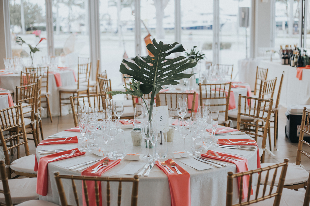 Modern-palm-beach-wedding