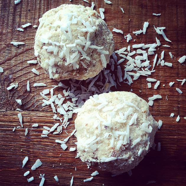 Cardamom & Coconut Truffles