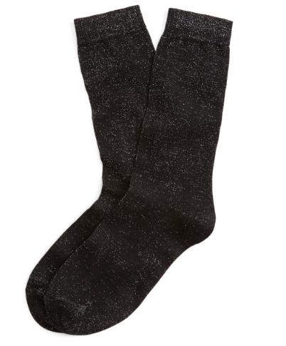 Brooks Brother Glitter Socks