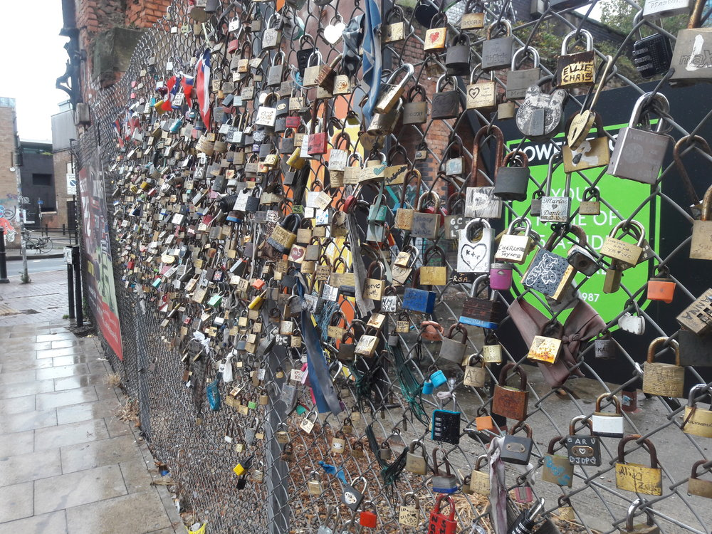 The Padlocks of Shoreditch Station