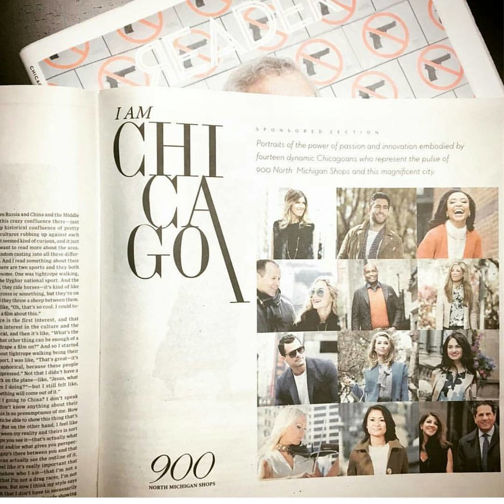 900 Shops Chicago Campaign