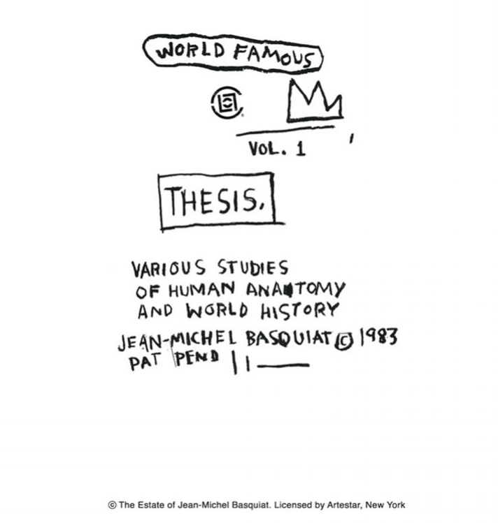Untitled (World Famous) - 1983