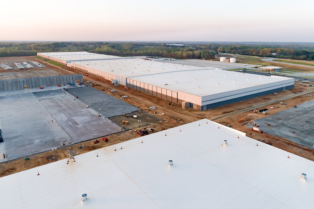 MICHELIN TIRES - SOUTHEAST DISTRIBUTION CENTER    4th Largest Site in the World   3,349,000 SF | Greenville, SC