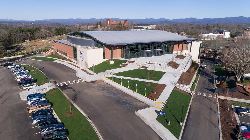 UNIVERSITY OF NORTH GEORGIA   Convocation Center  103,000 SF | Dahlongea, GA