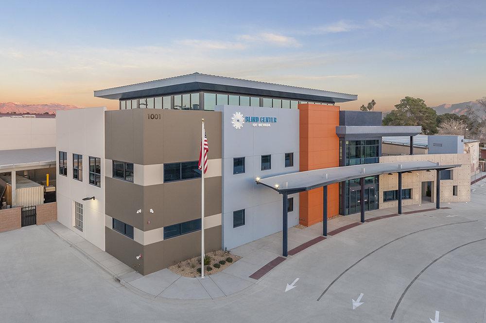 BLIND CENTER OF NEVADA   Office / Warehouse  39,000 SF | Las Vegas, NV