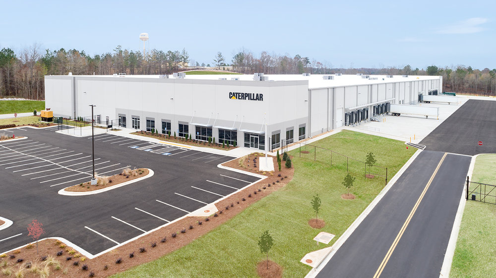 INDUSTRIAL + OFFICE CATERPILLAR   Tilt-up Construction  Distribution | LaGrange, GA