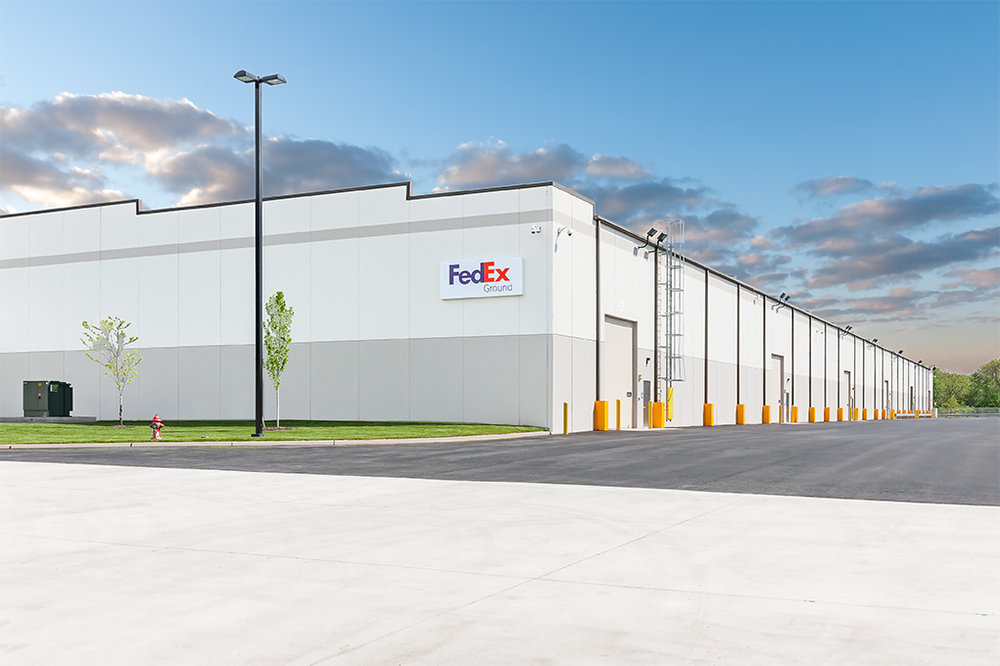 INDUSTRIAL + OFFICE FEDEX   Tilt-up Construction  Distribution | Wayne, NJ