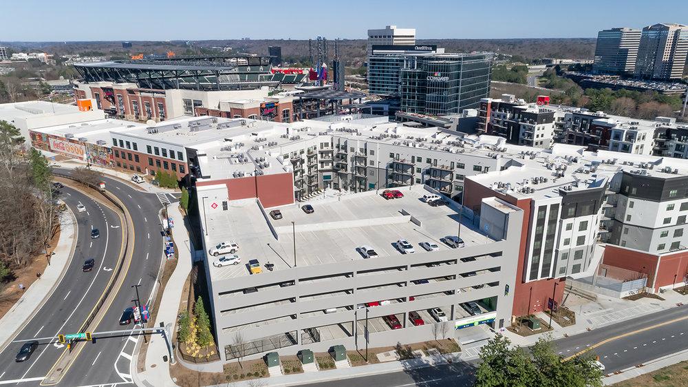 THE BATTERY at SUNTRUST PARK (Atlanta Braves)   Mixed-Use | 531 Units  1,154,000 SF | Atlanta, GA