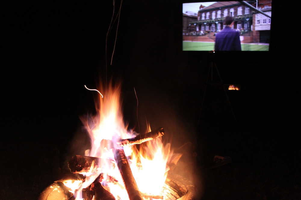 outdoor movie night | madeline made