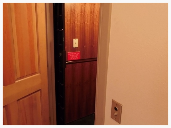 Elevator to Basement, Main Floor, and Master Suite
