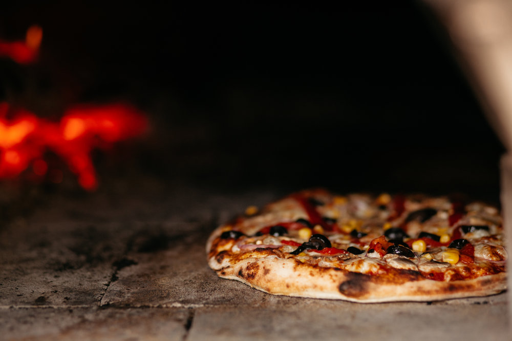 Real Wood Fired Pizza