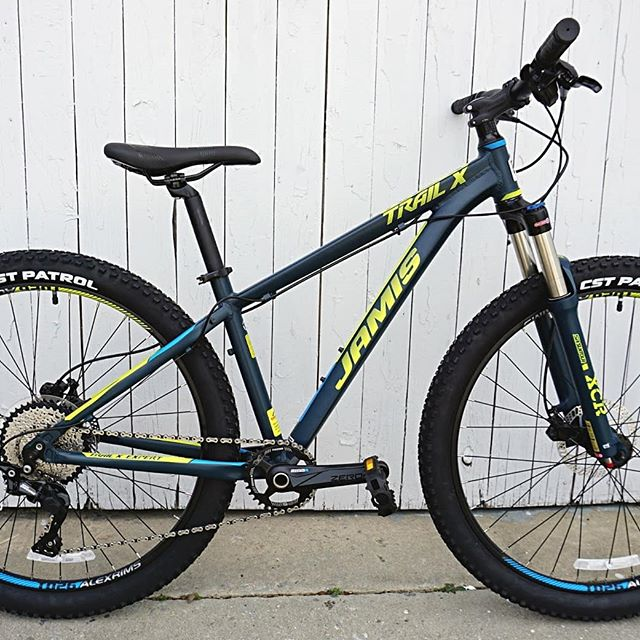 Come by our shop this week to check out this week's #BOTW a Jamis Trail X Expert mountain bike.  #go2gaston #shoplocal #getoutside #mountainbike