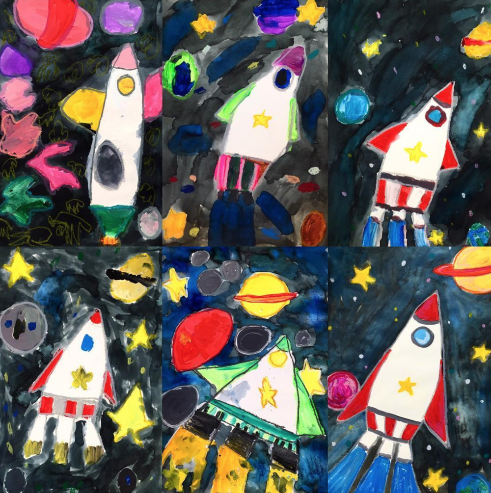 PAINTING // 6 WEEKS   (ages 4-12)  thursdays, march 29 - may 3 3:30 - 4:45pm $150 ($25/class)