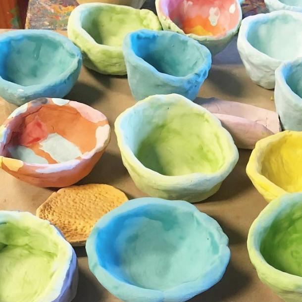 HOMESCHOOL 4-WEEK SESSION (ceramics)   ages 4+  wednesdays, february 13, 20, 27, mar 6 1:30 - 2:30pm $140