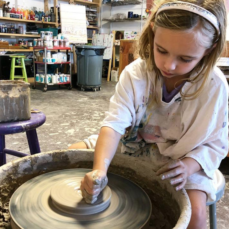 WHEEL THROWING 3-WEEK SESSION     (ages 7 - 14)  thursdays, march 28, april 4, 11 5:00 - 6:15pm $135 CLASS IS FULL - JOIN THE WAITLIST
