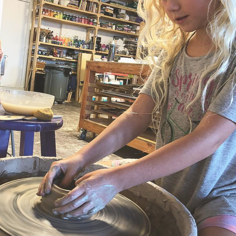 WHEEL THROWING 3-WEEK SESSION     (ages 7 - 14)  thursdays, may 2, 9, 16 5:00pm - 6:15pm $135 CLASS IS FULL - JOIN THE WAITLIST