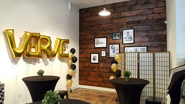 It was really cool to see all of the support at the @vervestpete One Year Anniversary party last night. So happy for these ladies, and so happy to know them!! Congrats on the success!!! #starchaserwoodworks #verveboutique #interiordesign #srq #sarasota #bradenton #tampa #tampabay #stpetersburg #stpetersburgfl #dtsp #theburg #florida #woodworking #reclaimedwood #accentwall #artist #handmade #realestate #rusticdecor #rustic #oldwood #recycledwood #woodart #remodel #homeimprovement #interior123