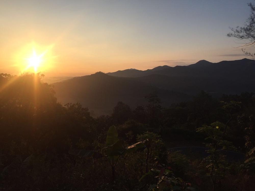 Sunrise over Tala Kaveri