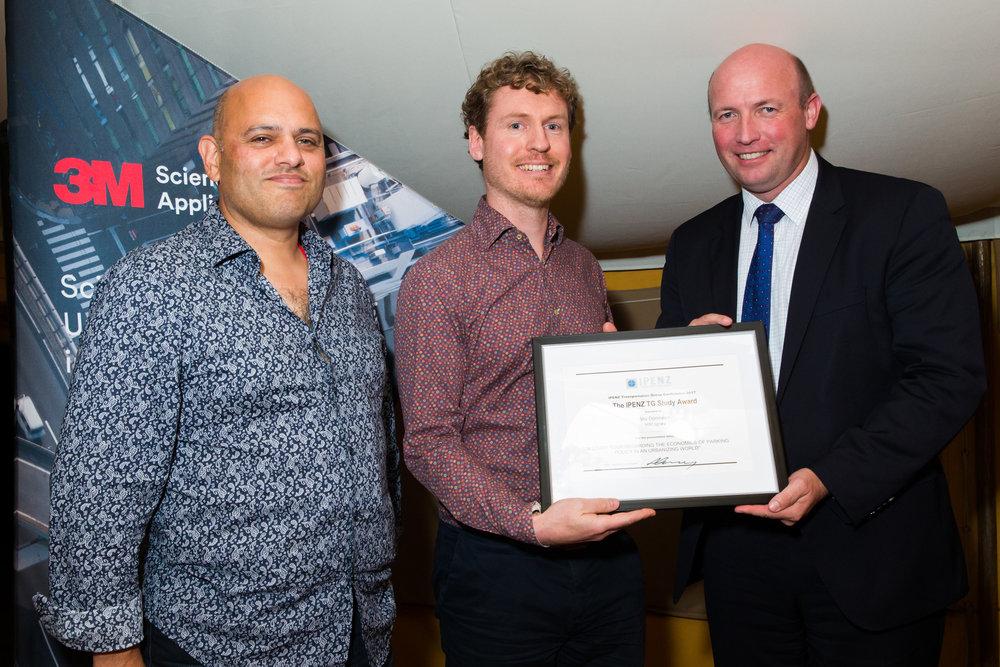 IPENZ TG 2017 Study Award - Stu Donovan