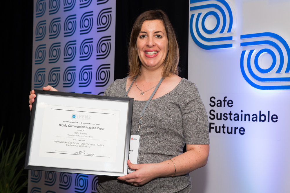 Highly Commended Practice Paper  - Visiting drivers signature project - safe & enjoyable journeys                                Holly Attwell - Opus International Consultants