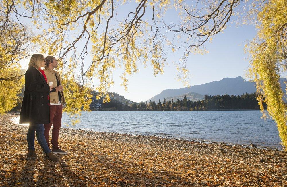 Autumn walks on Queenstown Bay.jpg