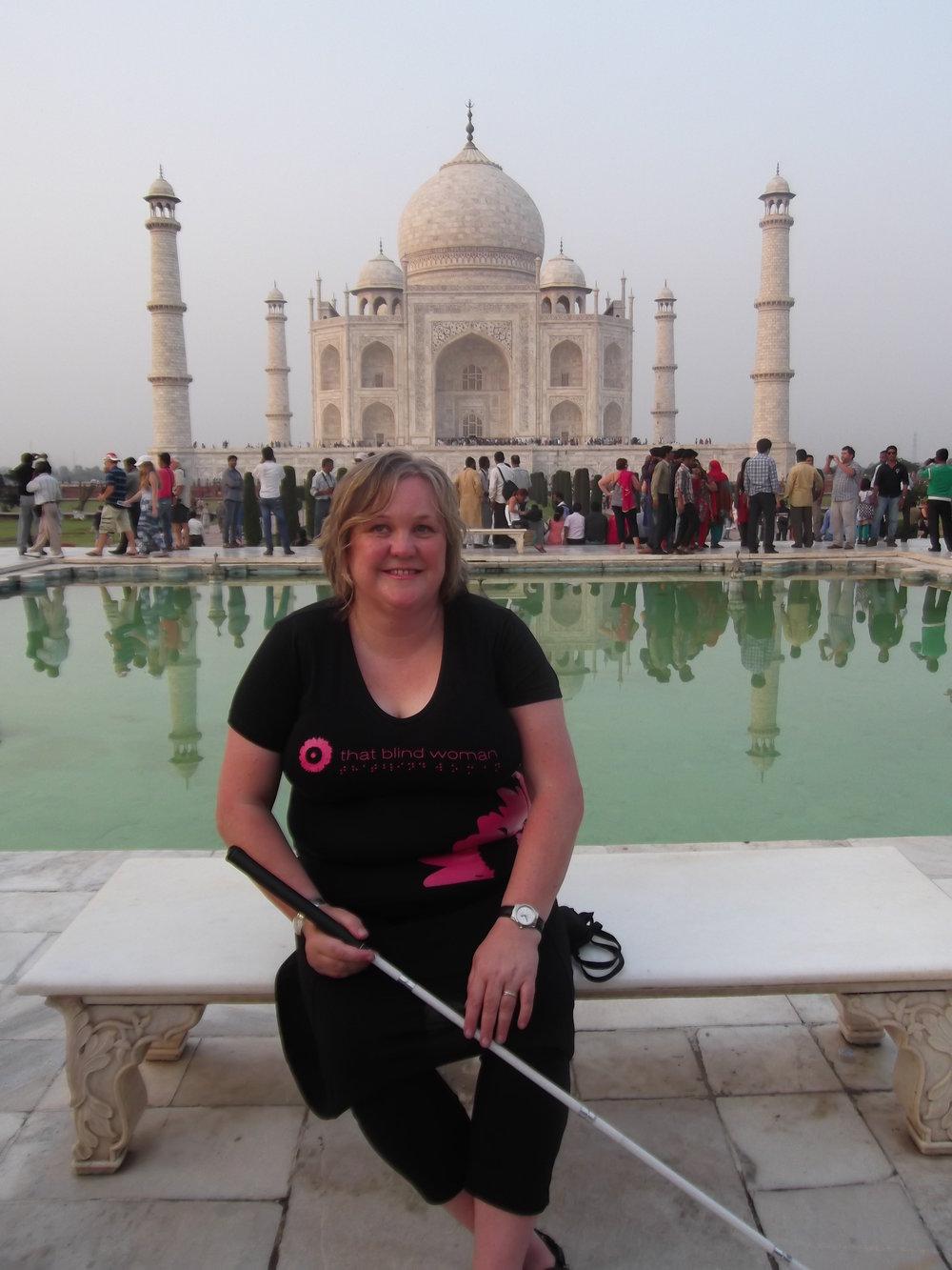 Julie Woods, aka That Blind Woman, Dunedin