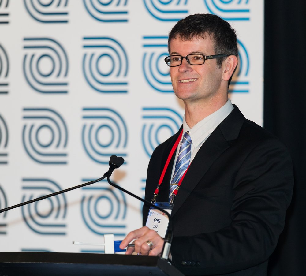 Greg Ellis, Conference MC