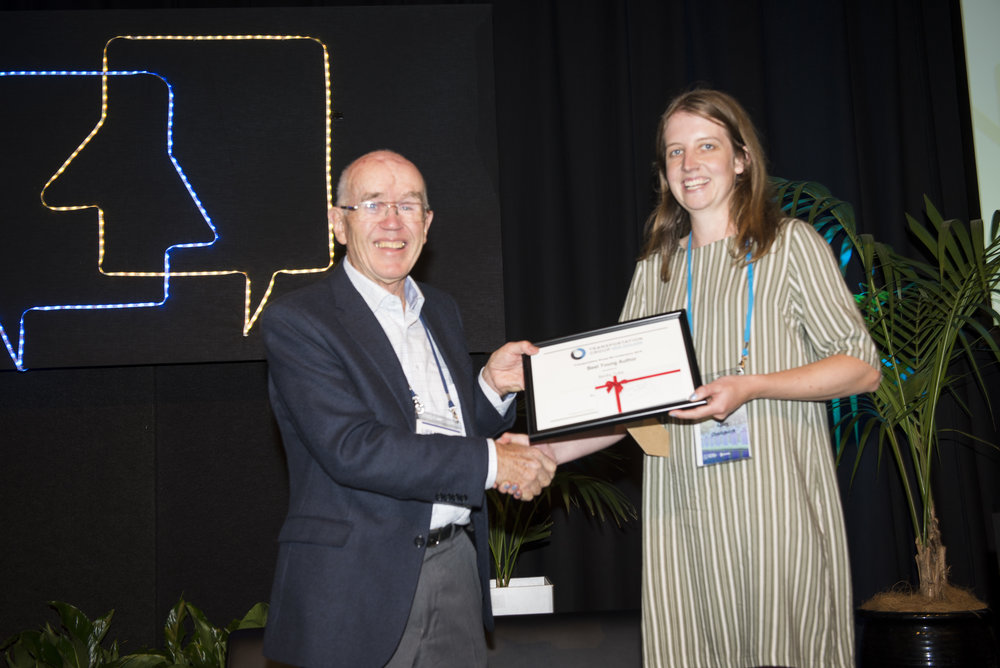 Best Young Author  sponsored by ITEANZ    4x stop; whose move?   Rebecca Tuke, Abley