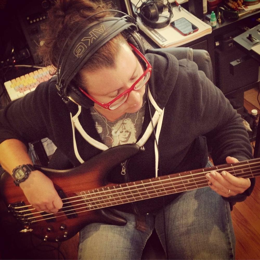 Catharine Wood on Bass