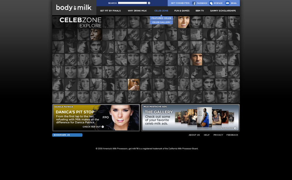 """Celeb Zone"" Images Drive to Featured and Archived Celebrity Pages"
