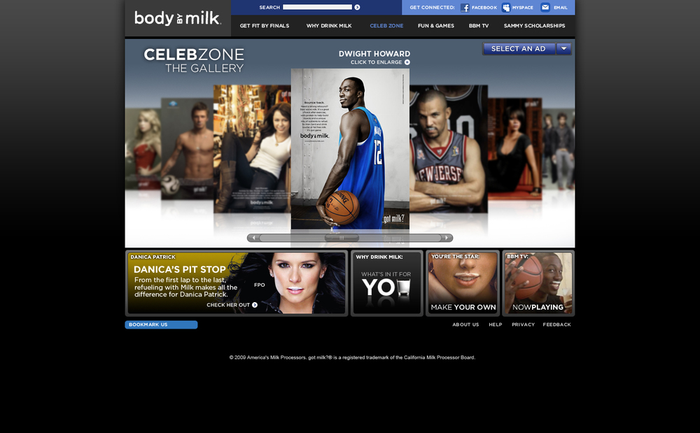 Milk Mustache Ad Gallery