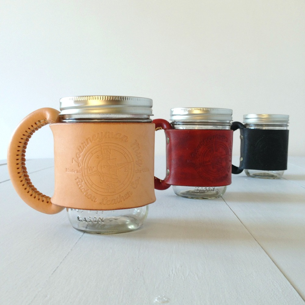 ANCHOR LEATHER CO. JOURNEYMAN MUGS | handcrafted in Charlotte