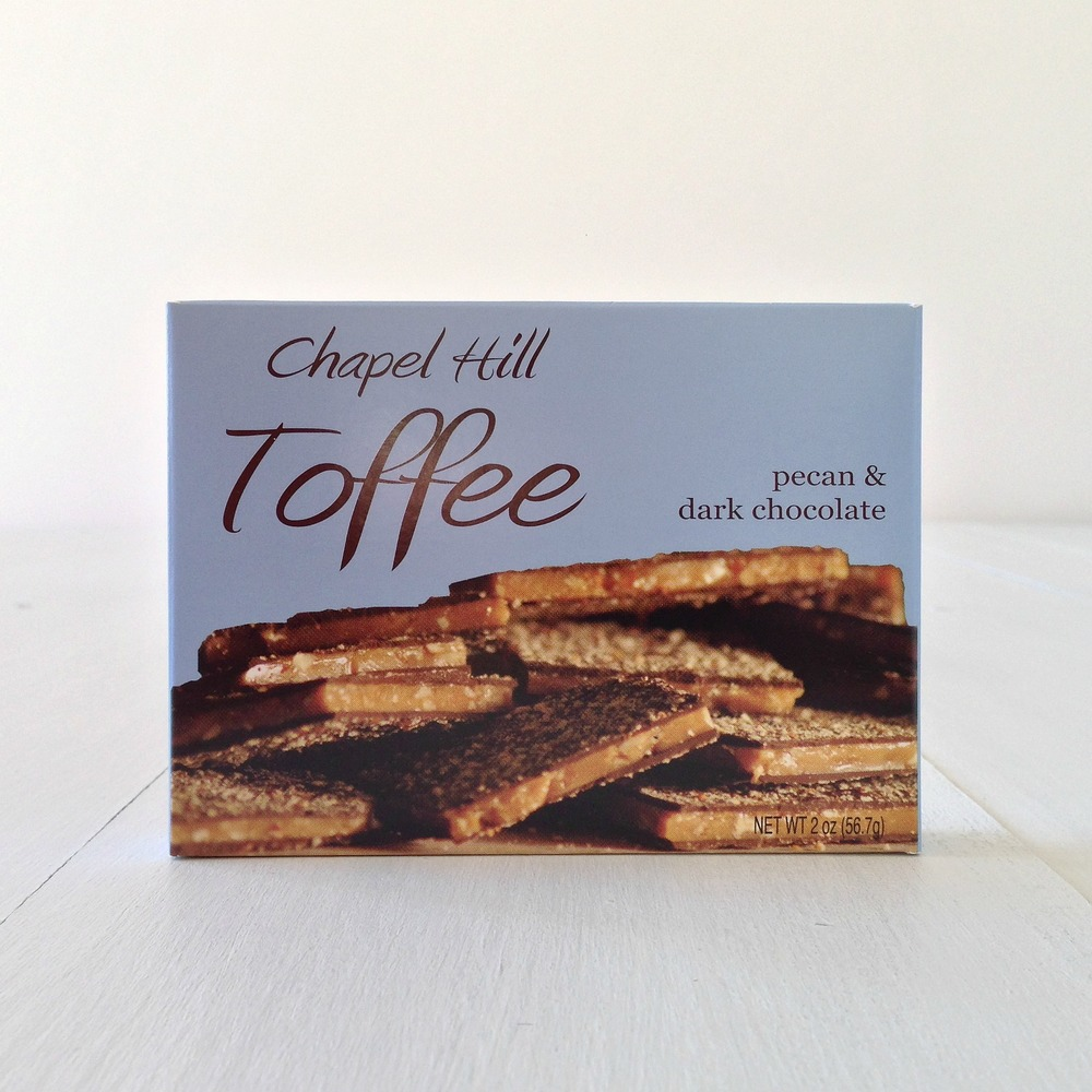 CHAPEL HILL TOFFEE | all natural & gluten free