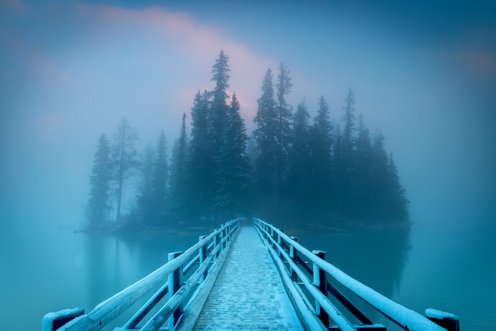 Pyramid Lake under the blue fog.jpg