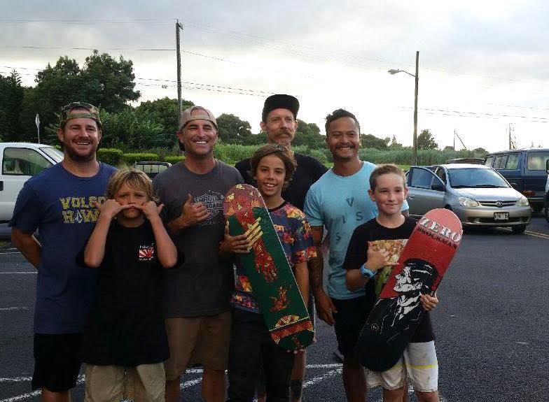 (the Maui Skate Series team)