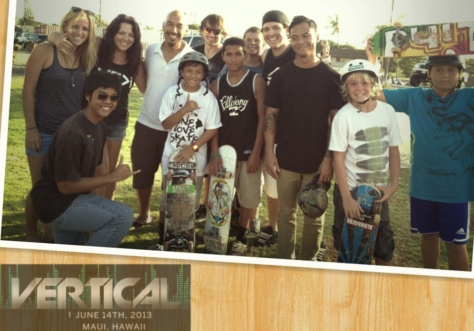 #OneLoveSkate at Hope Chapel Maui with Jenn Marburger, Sherra Estes, Francis Chan, Josh Knipple, Joshua Marburger, & Sam Peralta.