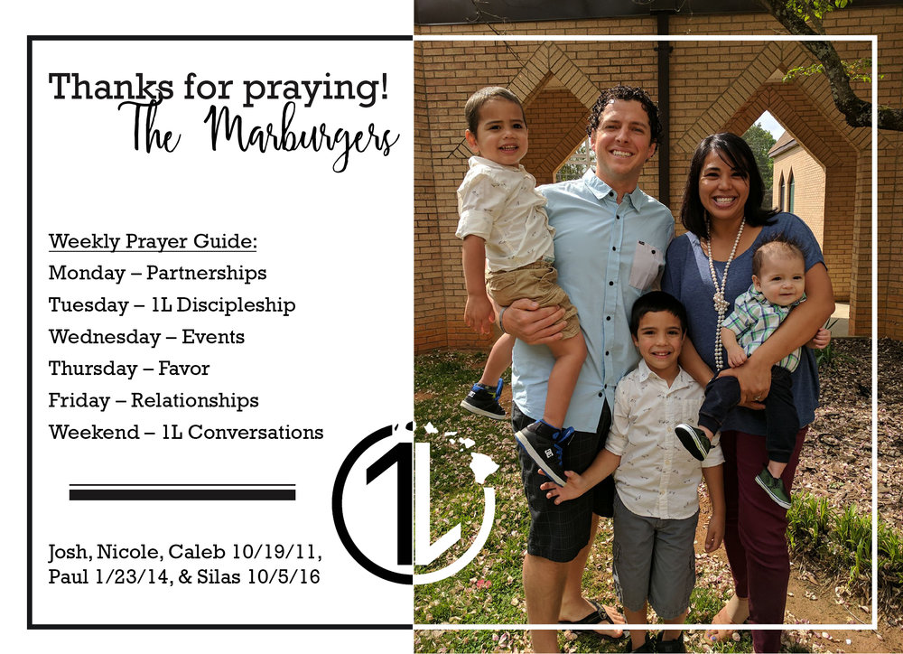 Marburger One Love prayer card #2 FRONT.jpg