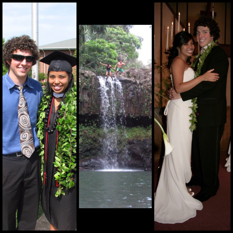 "Graduation, the ""jump,"" & marriage in 2008!  WooHoo!!!"